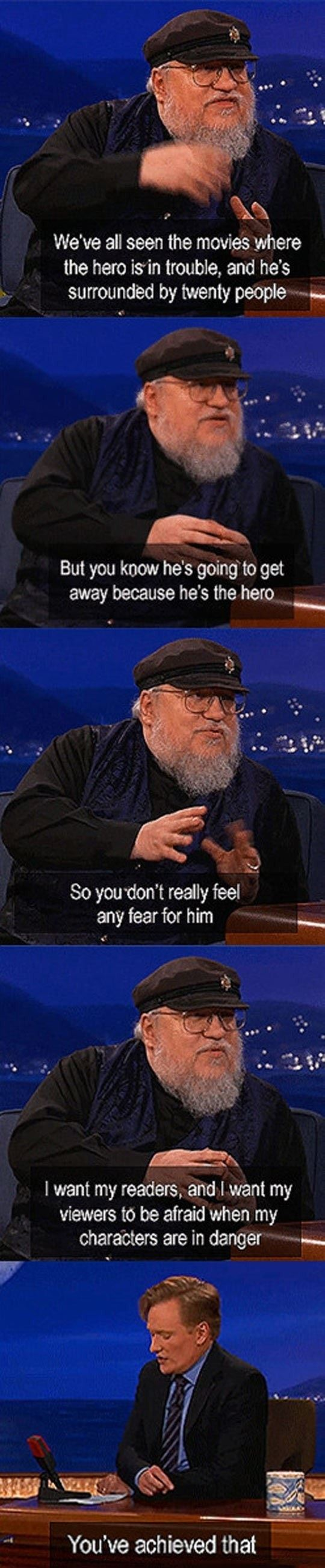 George R.R. Martin on Game of Thrones