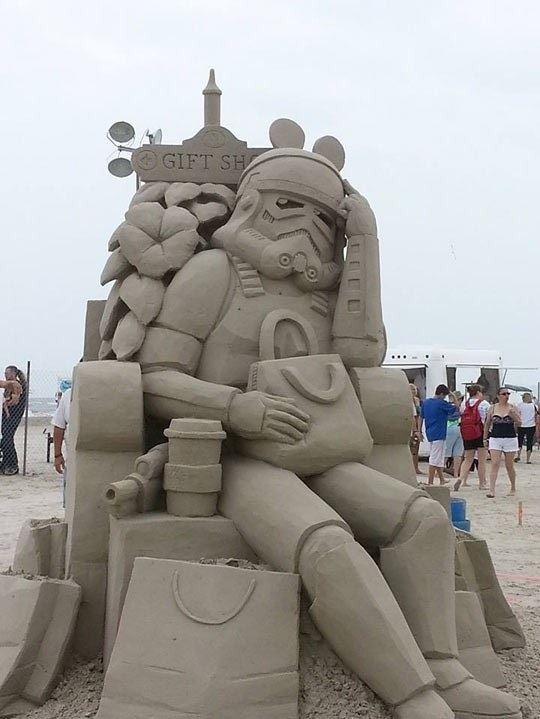 Incredible Sand Sculpture