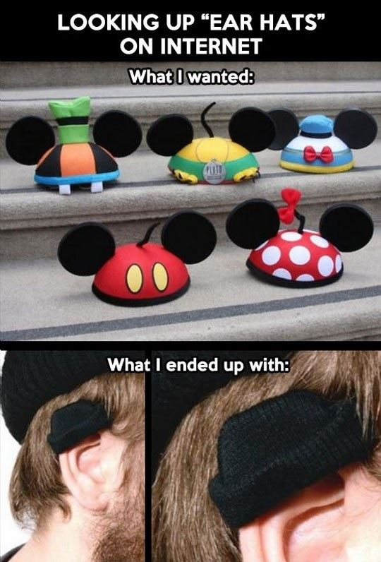 Not those ear hats