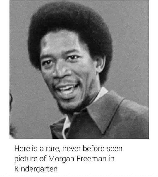 Picture of a young Morgan Freeman