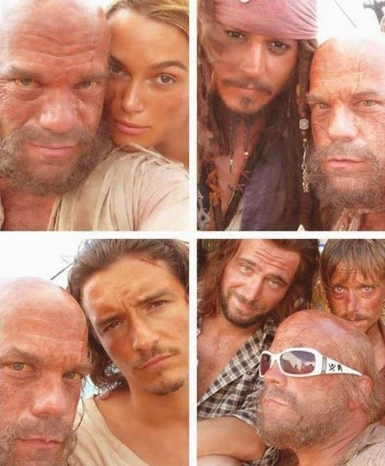 Pirates Of The Caribbean Also Take Selfies