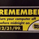 Remember the Y2K problem