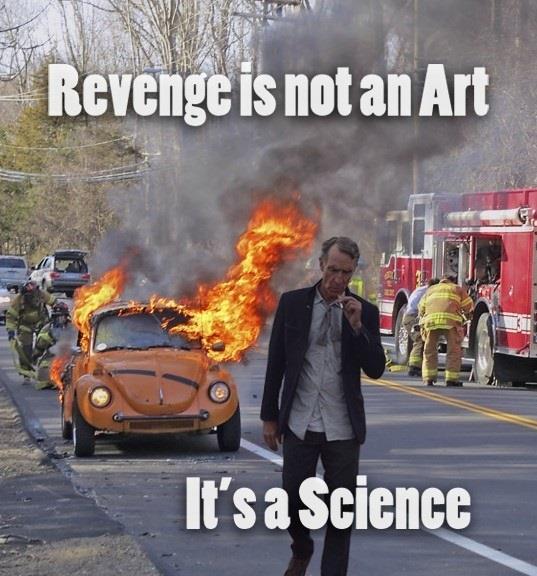 Revenge is science