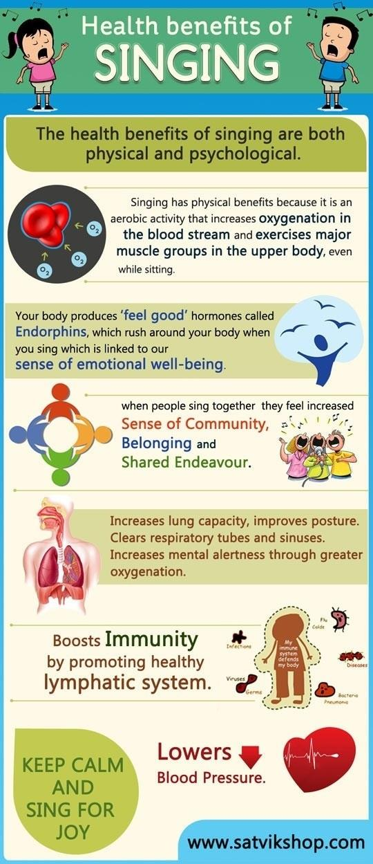 Singing is good for your health