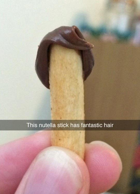 Stylish Nutella Stick