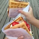 Belgian ice cream sandwiches