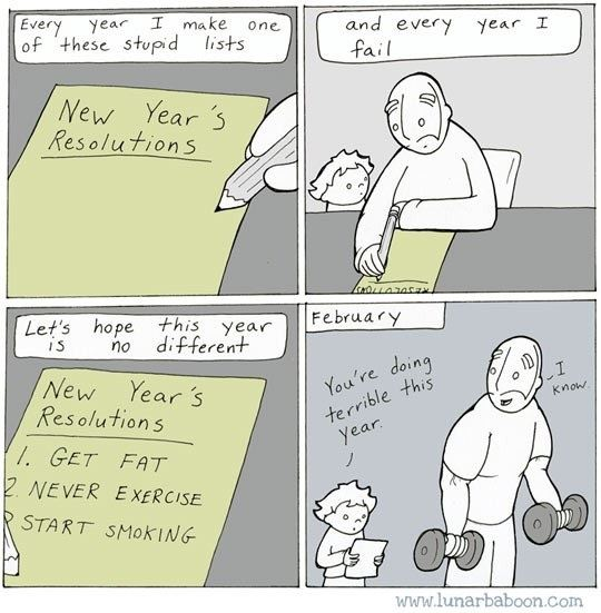 Best Resolutions For 2016