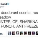 Deodorant Scents Names