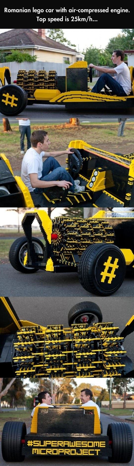 Real LEGO Car