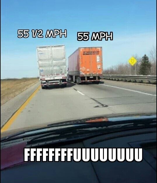 Scumbag truck drivers