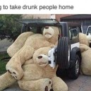 Taking drunk people home