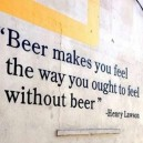The Way Beer Makes You Feel