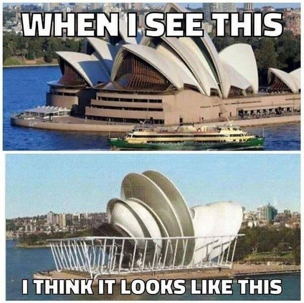 When I see the Sydney Opera House