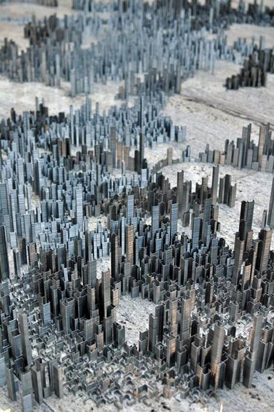 A City Made Of Staples