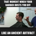 After a haircut