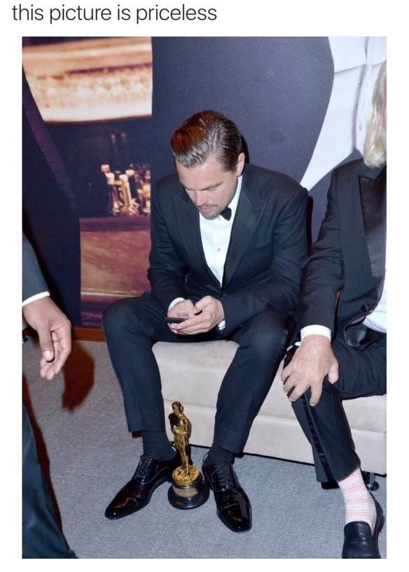 Finally Leo Dicaprio got one