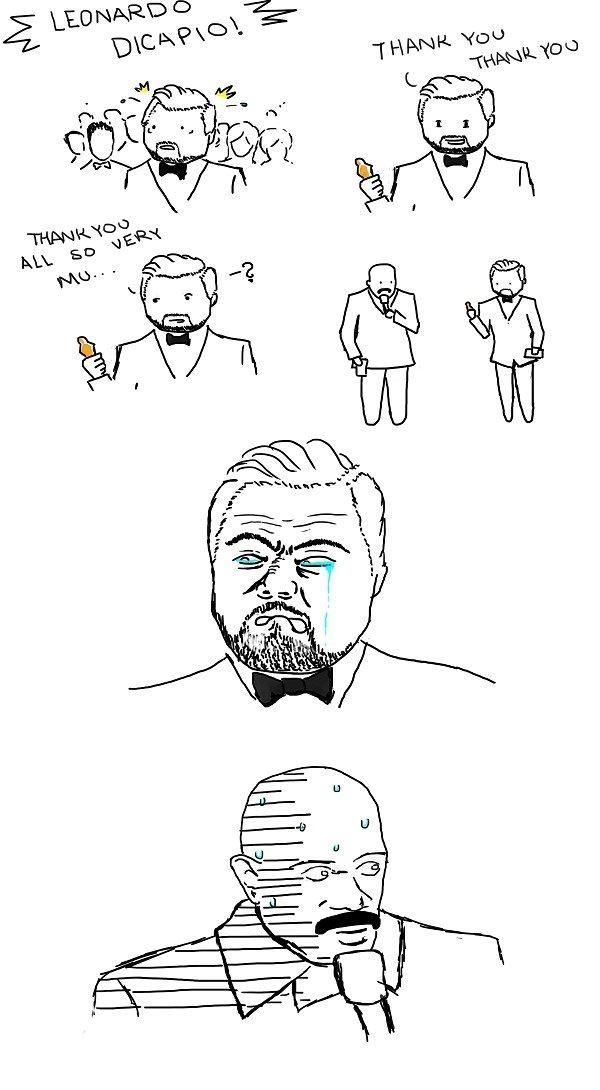 Leonardo DiCaprio's Worst Nightmare