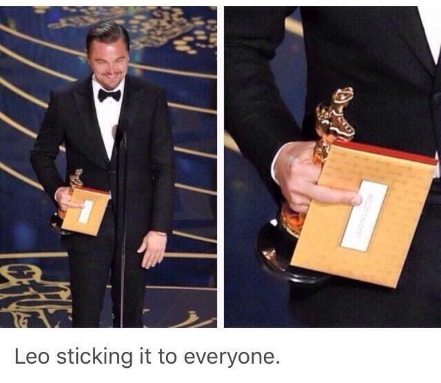 Nice one Leo