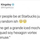 Ordering at Starbucks
