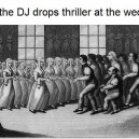 Playing Thriller at a wedding