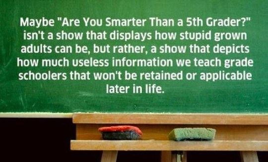 The Real Problem With Education