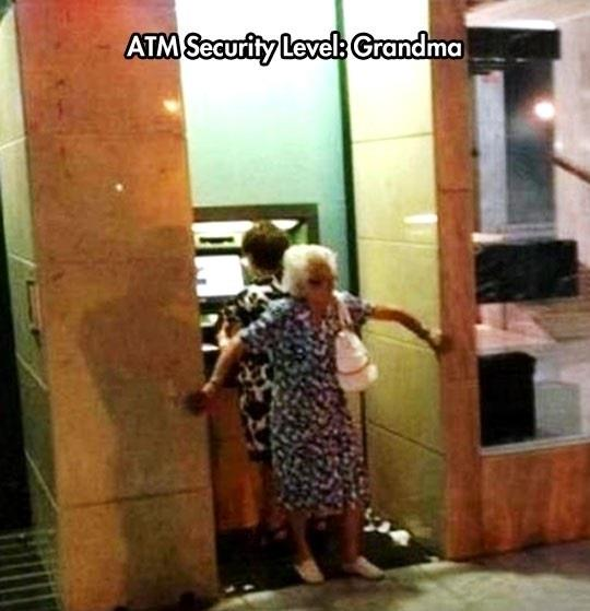 The best ATM security