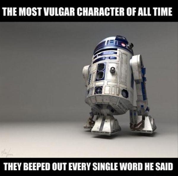 Vulgar R2D2