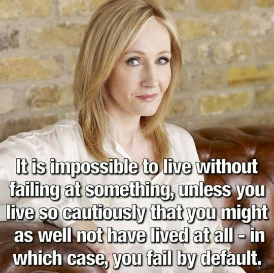 Wise words of J. K. Rowling