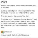 Awesome food show idea!