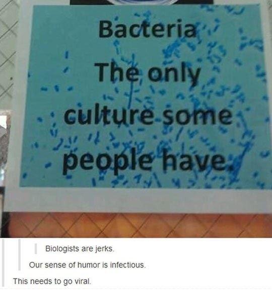 Biologist Humor