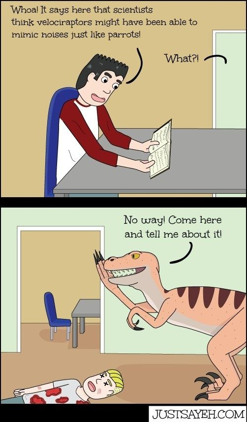 Clever Velociraptor