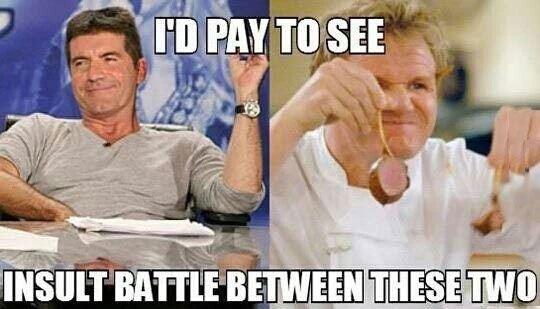 Epic insult battle!