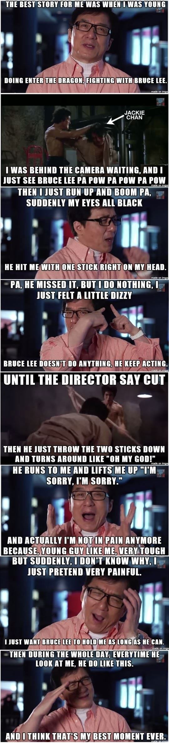 It Was Jackie Chan's Greatest Moment