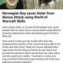 Survived Thanks To World Of Warcraft