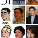 The Entire Cast Of Archer