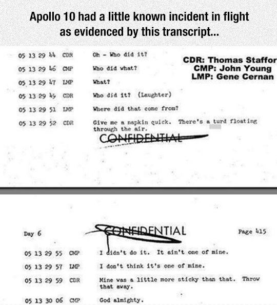 Apollo 10 accident