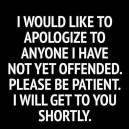 Be Patient Please