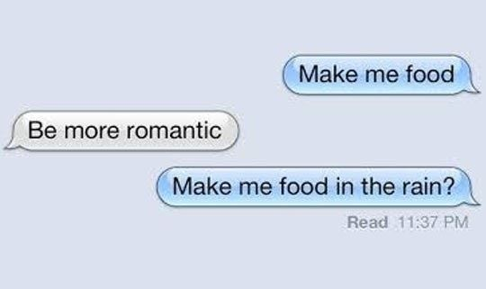 Please Be More Romantic