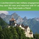 The army of Liechtenstein