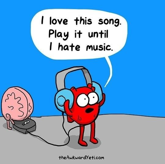 What I do will all my favorite songs