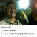 Feel the regret