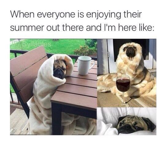Me in the summer