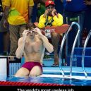 Life Guard at the olympics