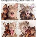 Selfie with best friend