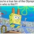 True fan of the Olympics