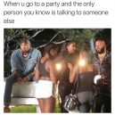 Alone at the party
