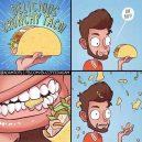 Delicious crunchy taco!