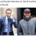 At the job interview