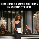 Choosing a picture to post