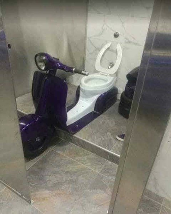 Rider dream toilet